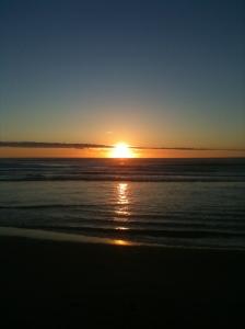 Sunrise over the Atlantic, September 15, 2013