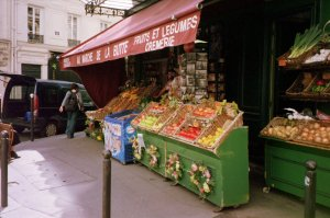 Marché Featured in the Amélie