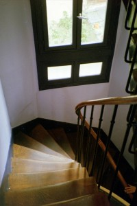 Winding Stairs to Parisian Apartment