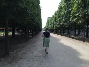 Morning Walk through the Tuileries
