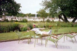 Ed Relaxing in the Tuileries