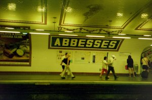 Becoming Familiar with Abbesses Metro Stop