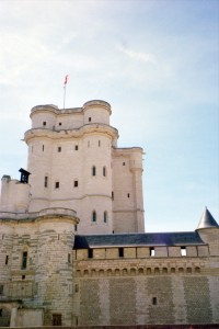 Château de Vincennes on a Hot Day