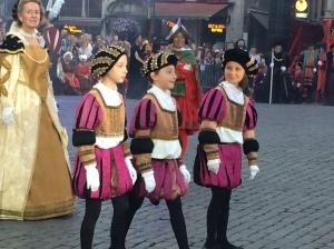 Children in Costume, Ommegan
