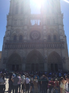 Notre-Dame in the Midday Sun