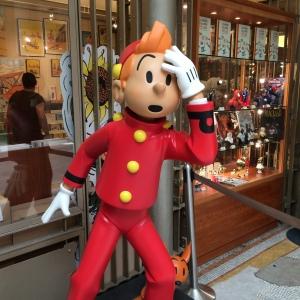 Tintin at the Comic Strip Center